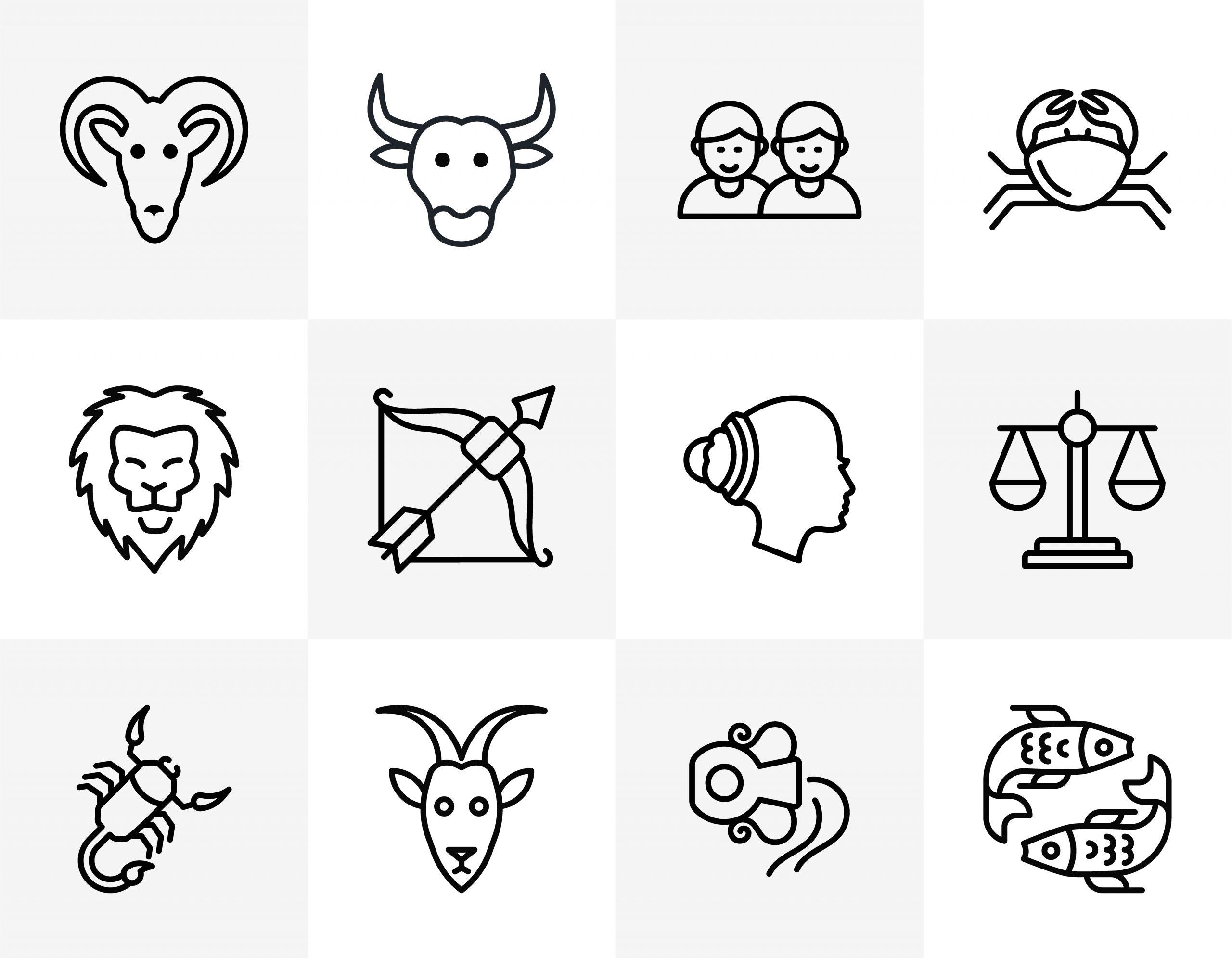 Zodiac Signs Icon Download