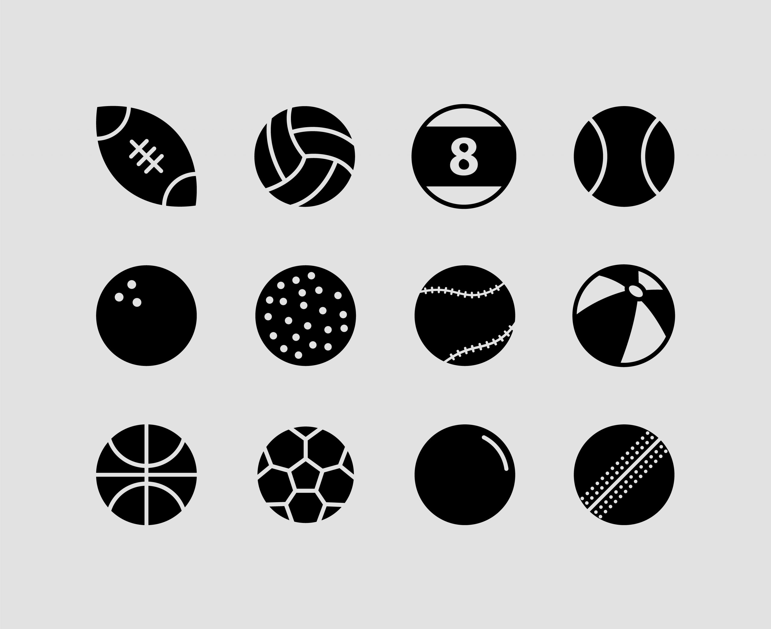 Sports Balls Icon Download