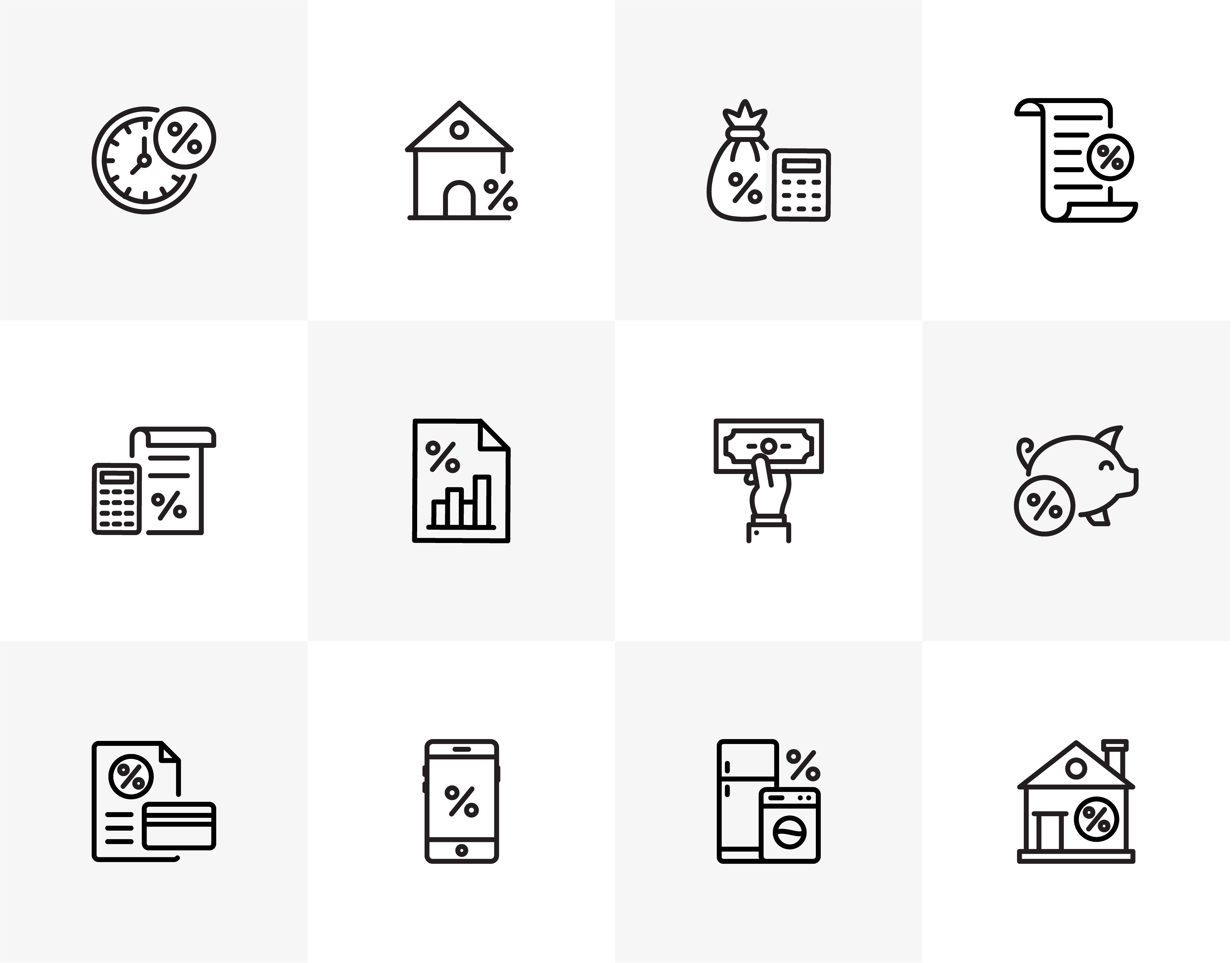 Loan Icons Free Download
