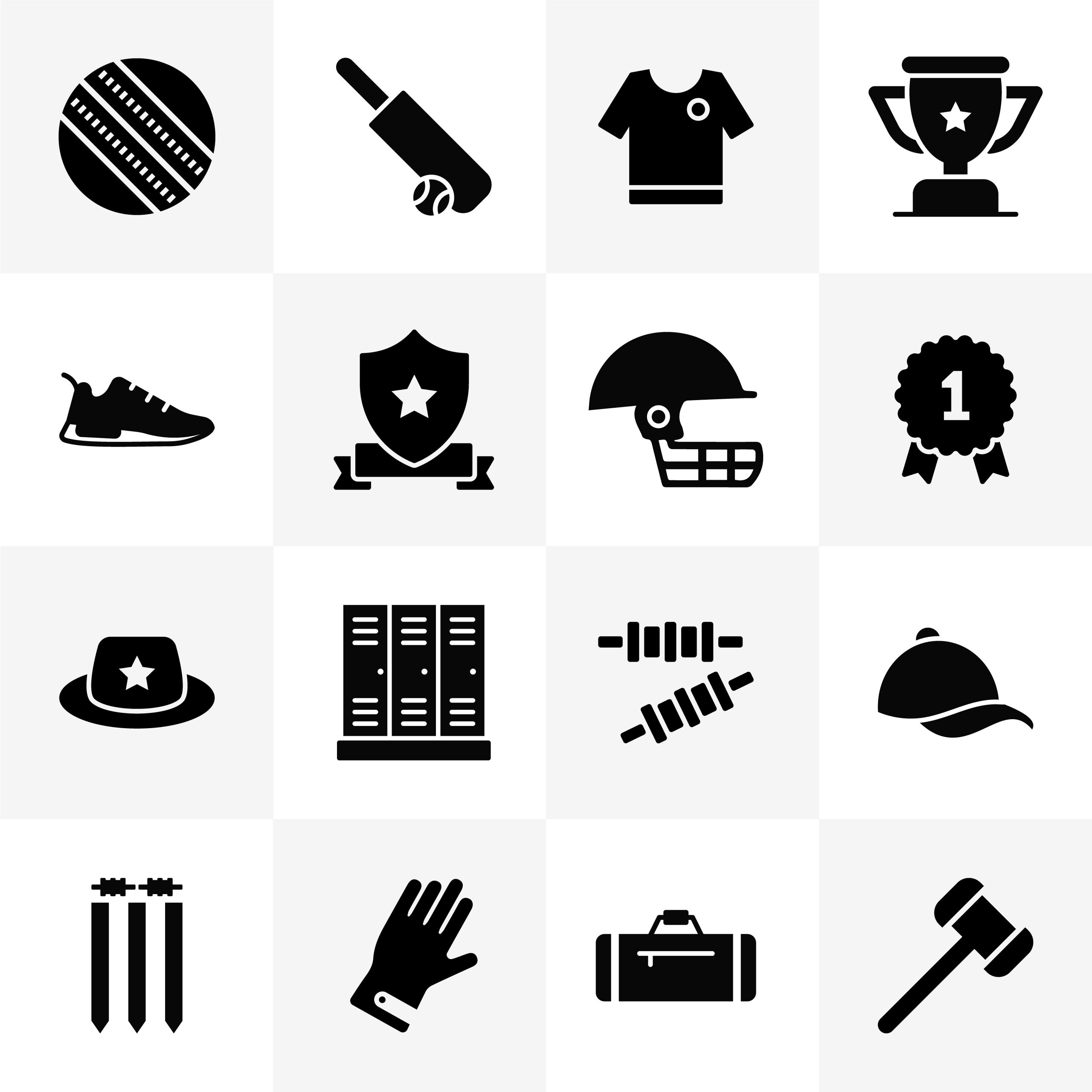 Free Cricket Icons Download