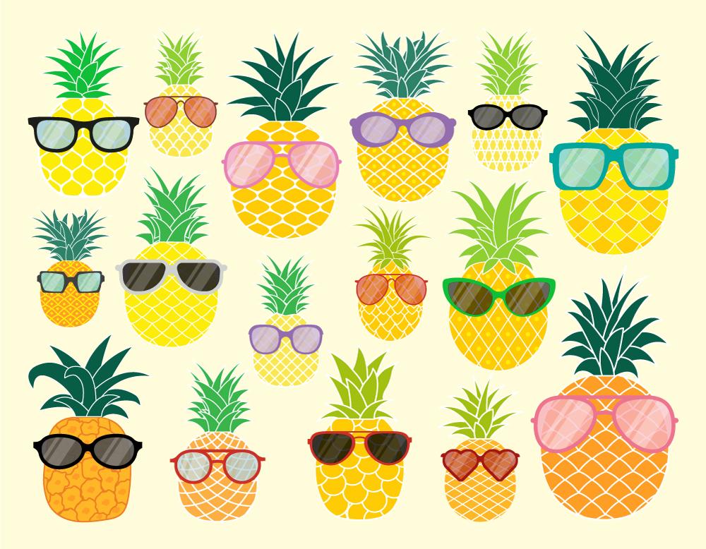 Pineapple Vectors Free Download