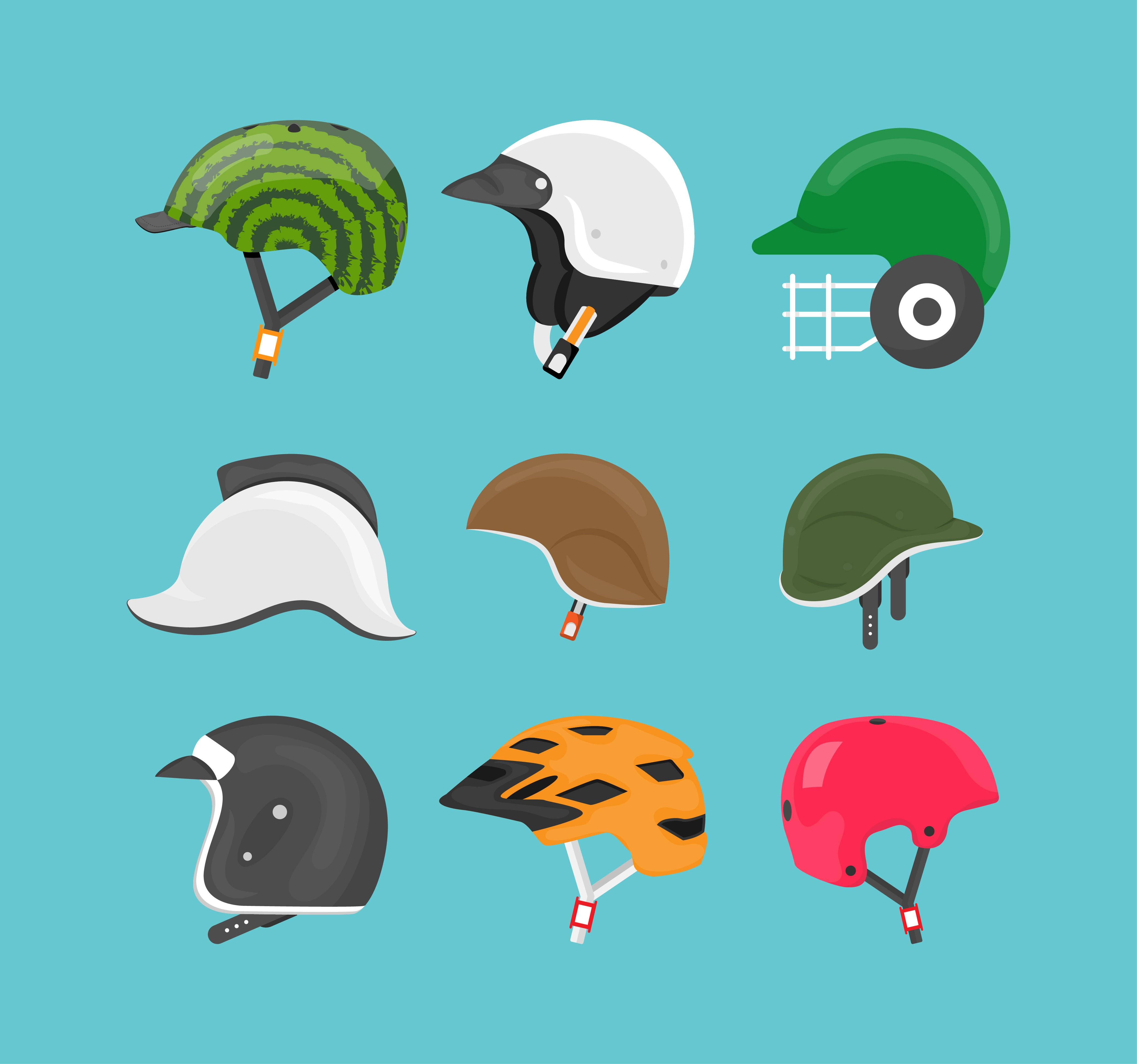 Helmet Vectors Download Free