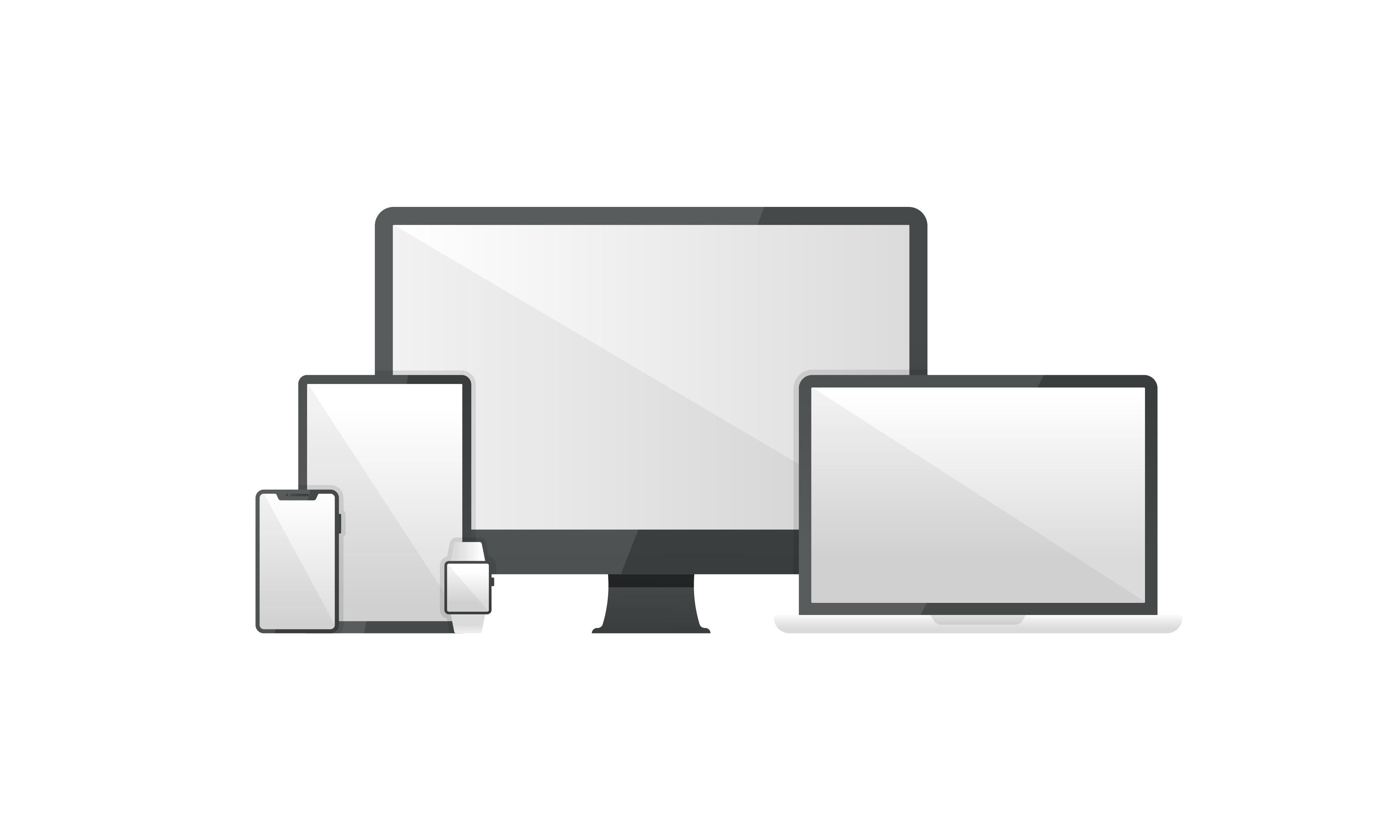 Smart Devices Free Vectors Download