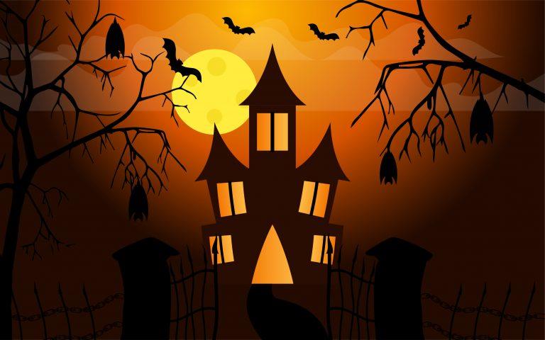 Halloween Wallpaper Free Vector