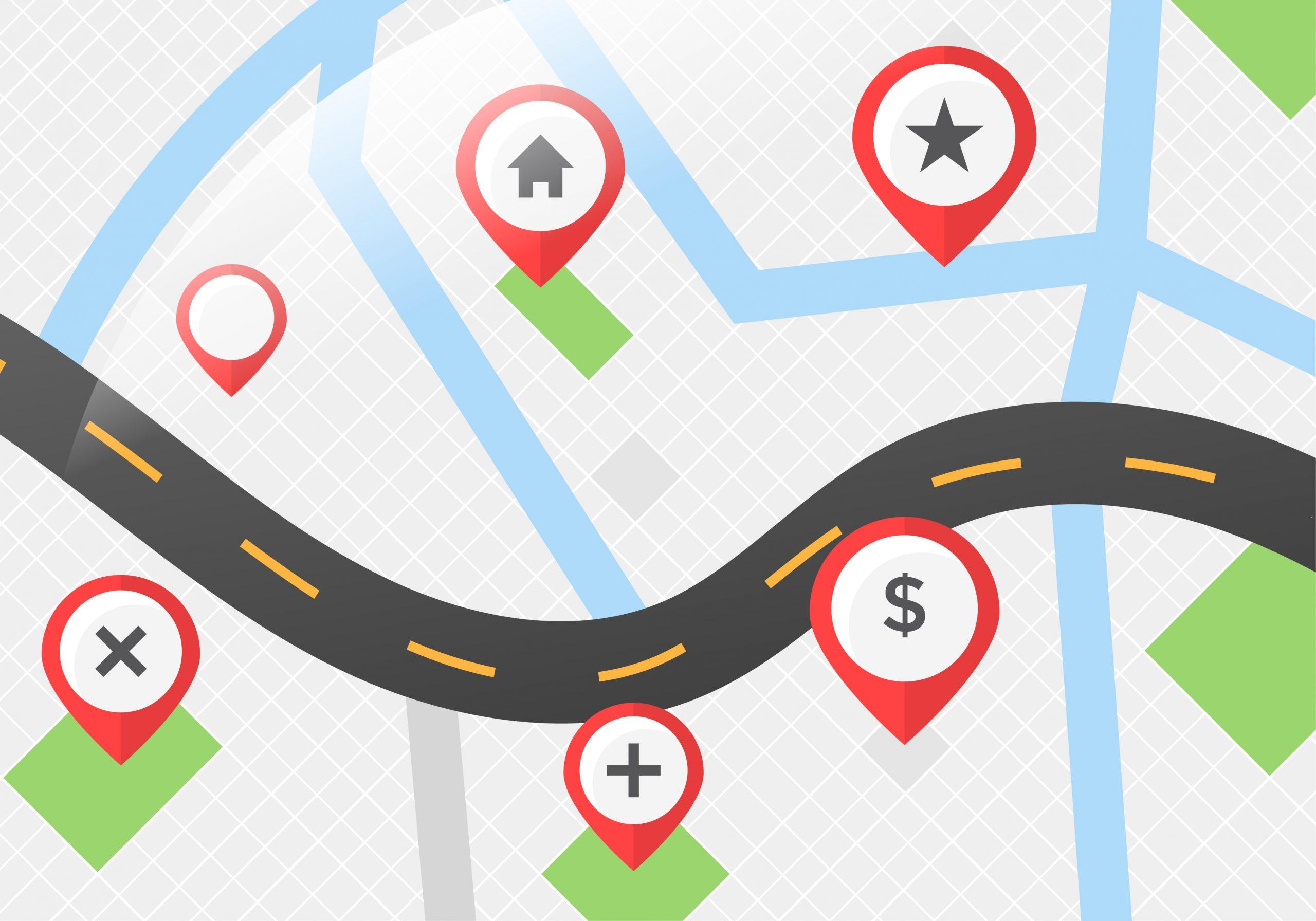 Map Pins Vector Download