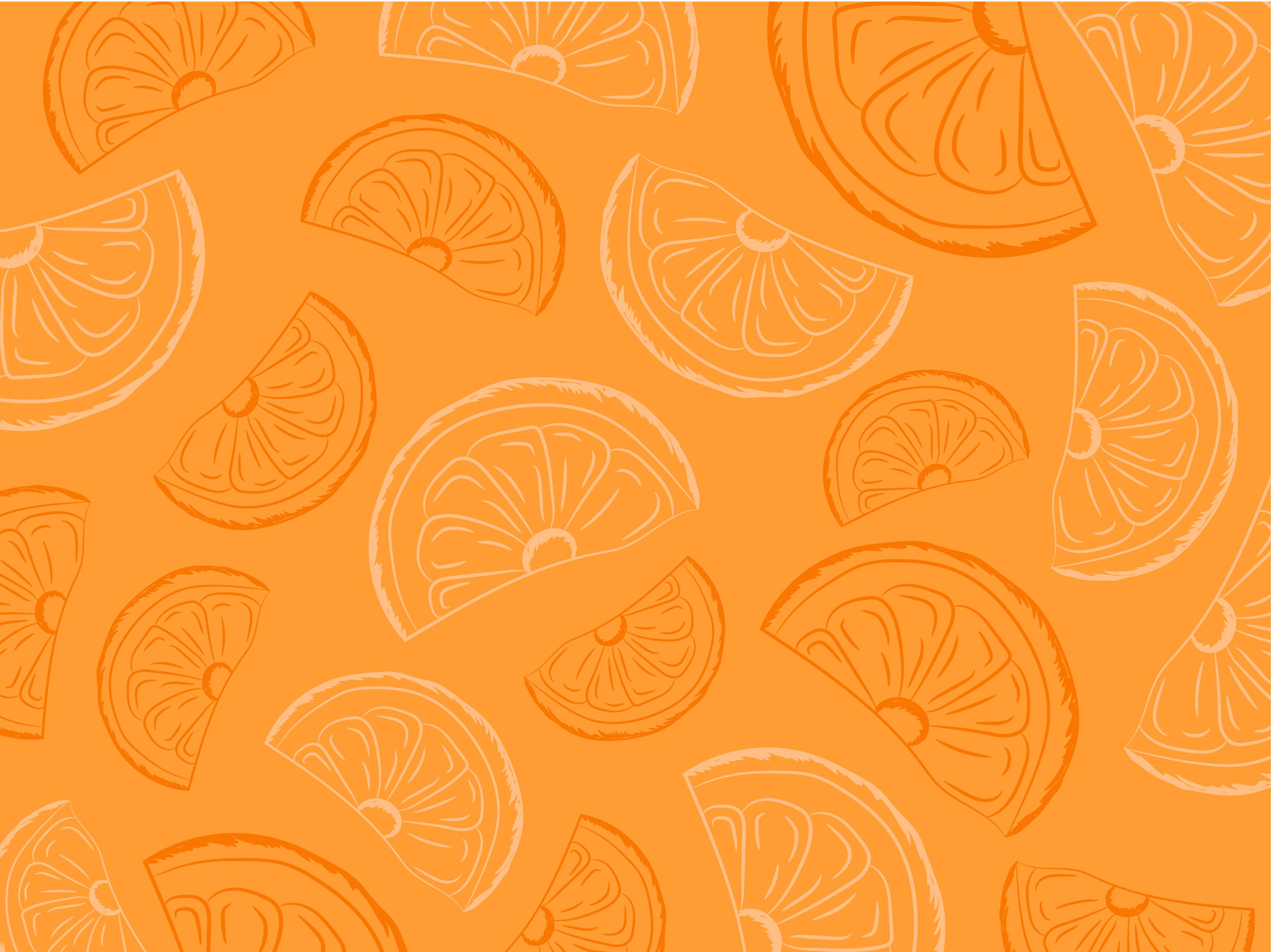 Orange Vector Background Free Download