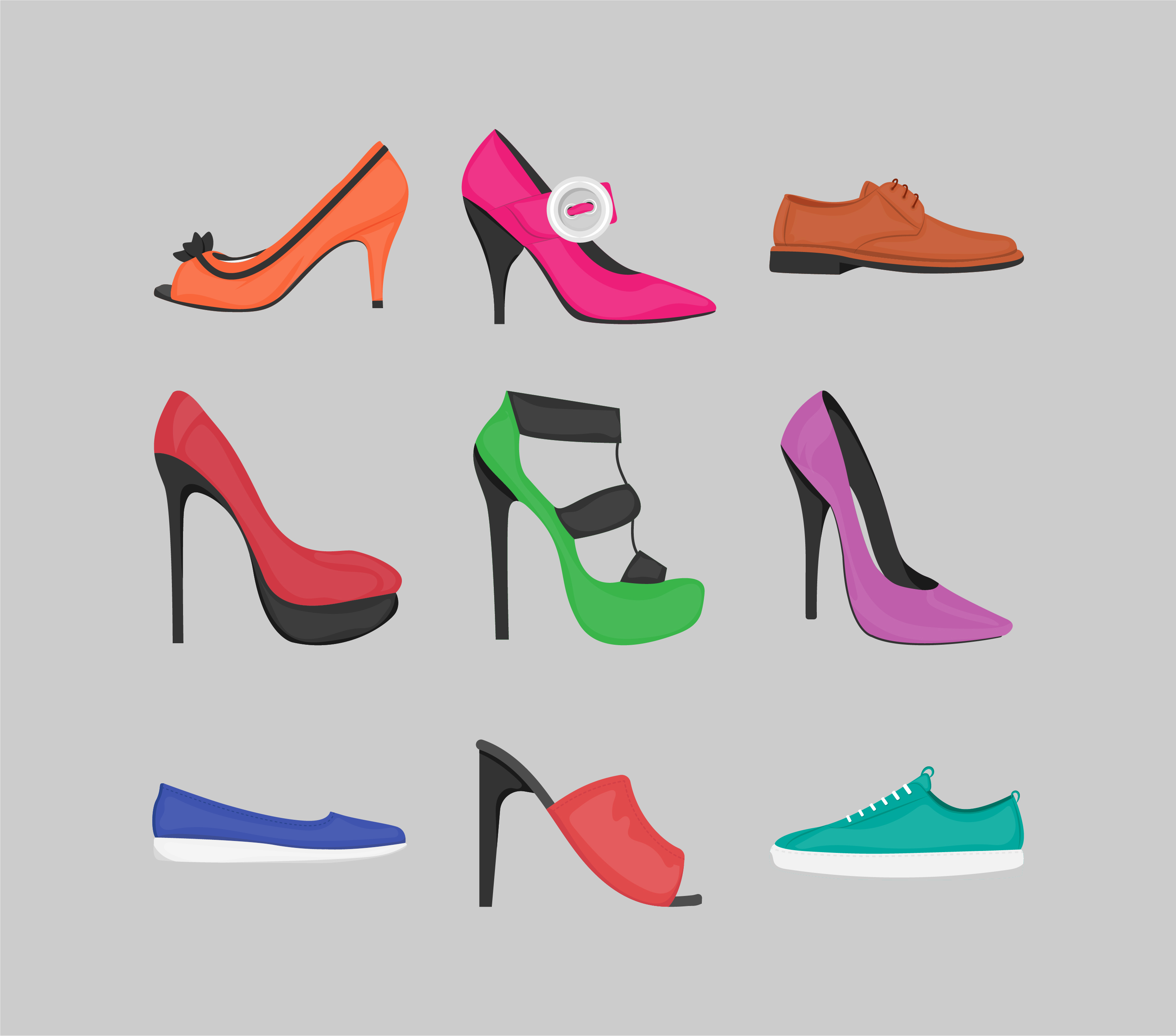Shoes Icons Free Download