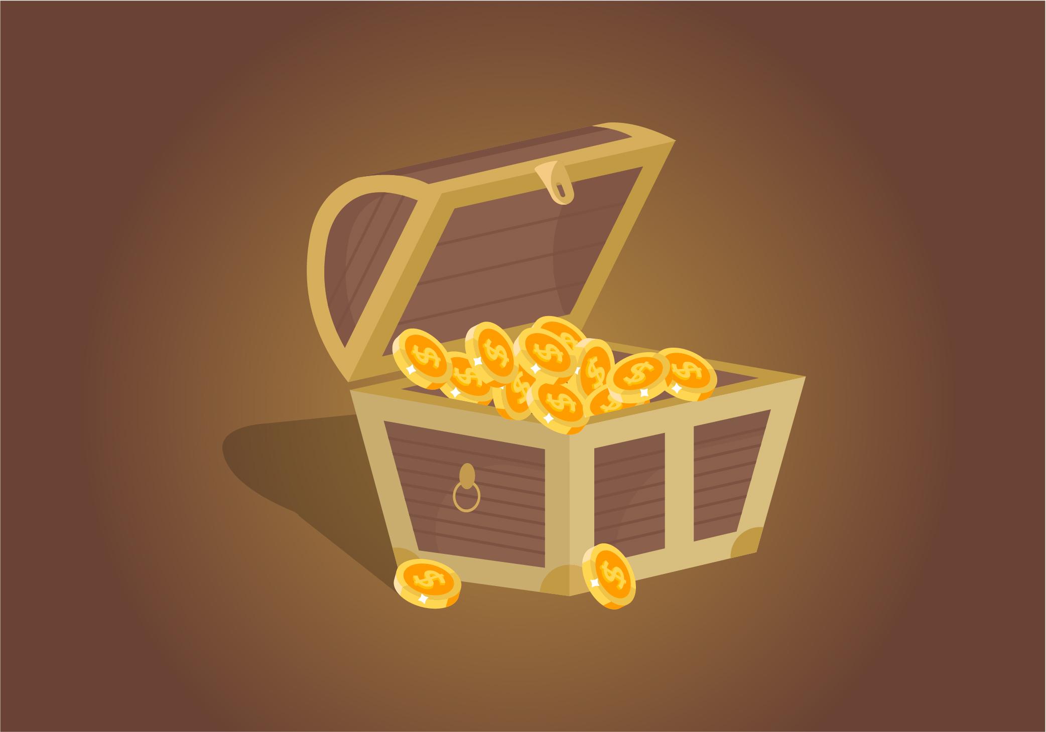 Treasure Chest Vector Download