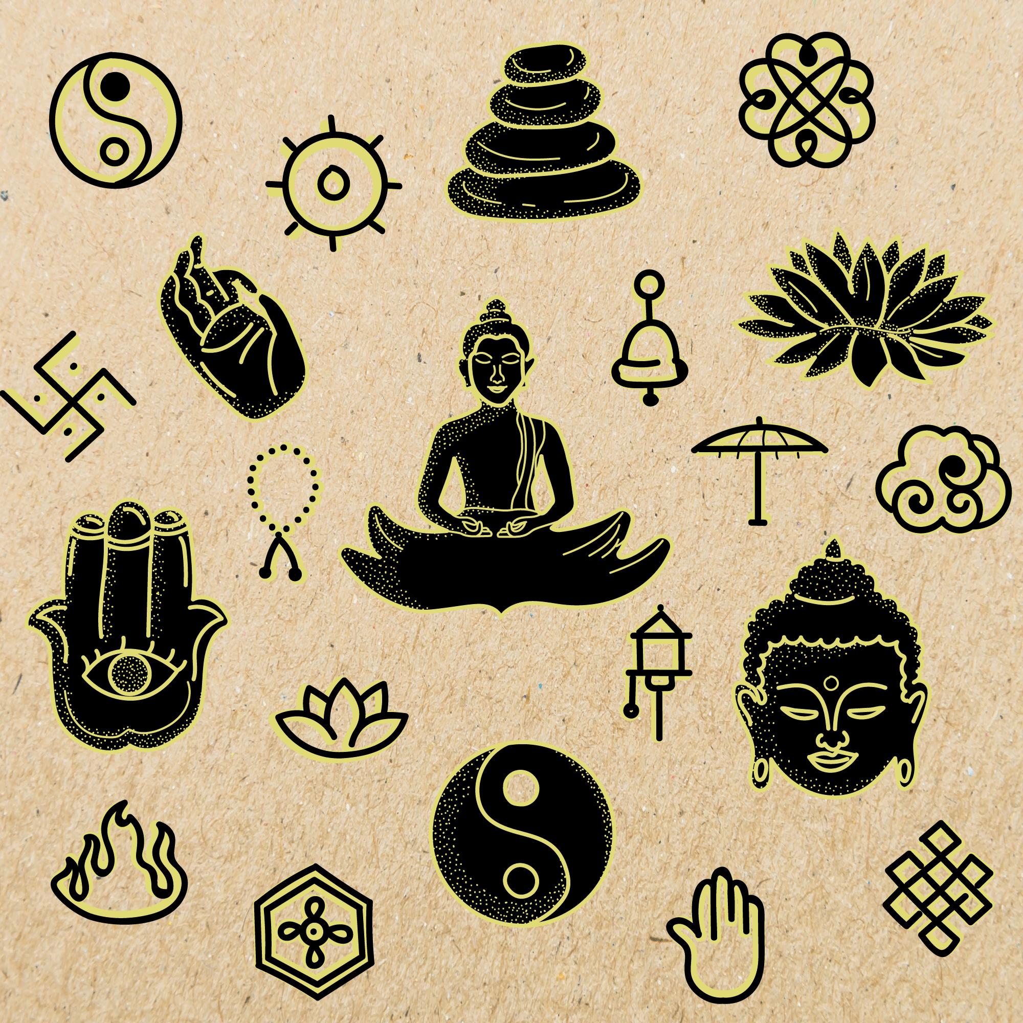 Buddhism Vectors Free Art