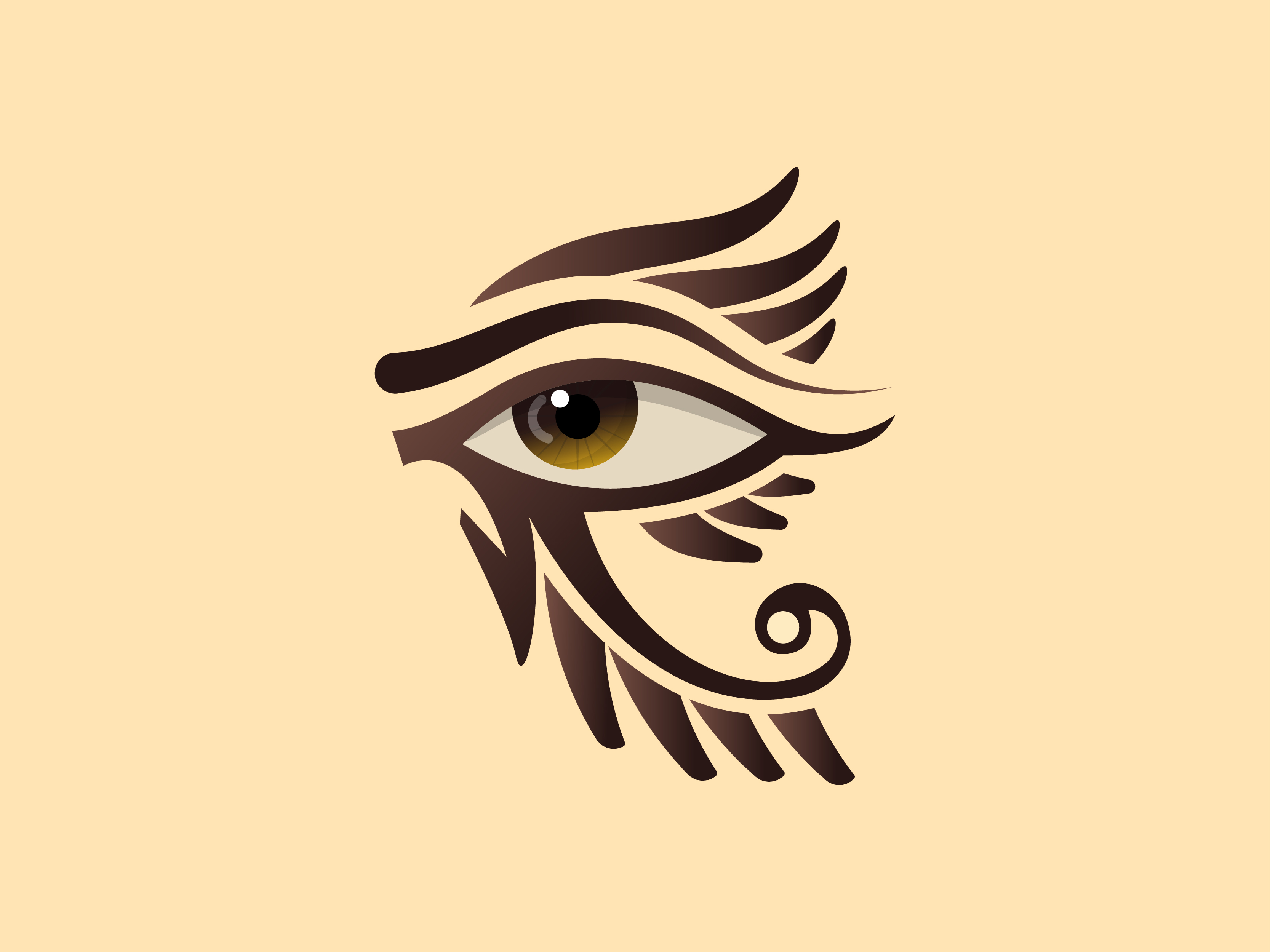 Free Eye of Horus Vector Art