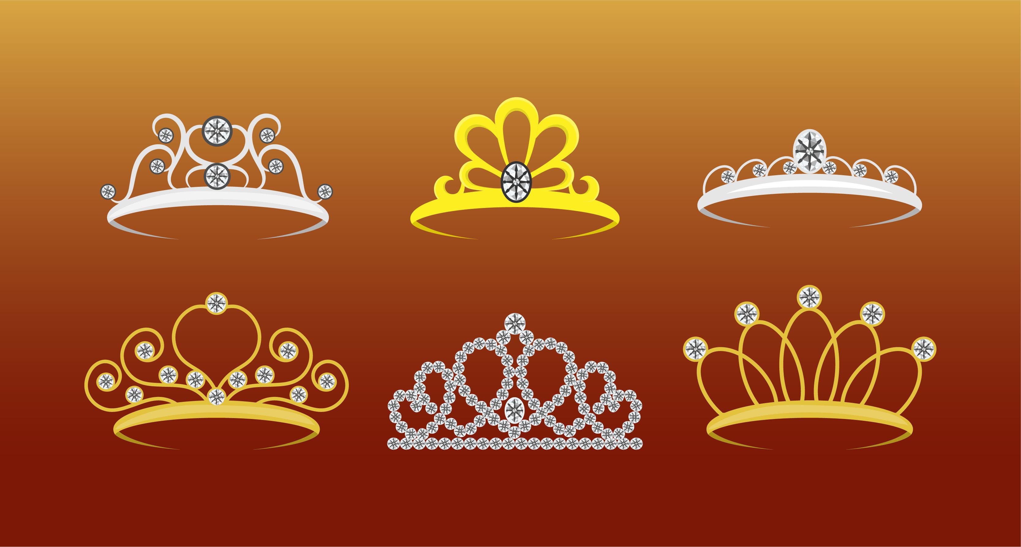 Queen Crown Vectors Download