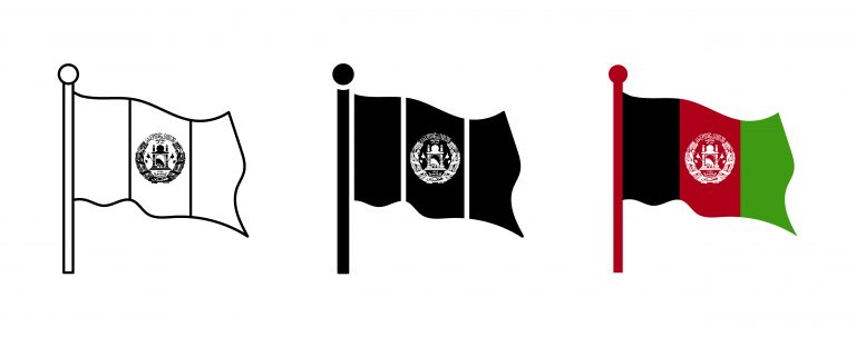 Free Afghanistan Flag Vector Download