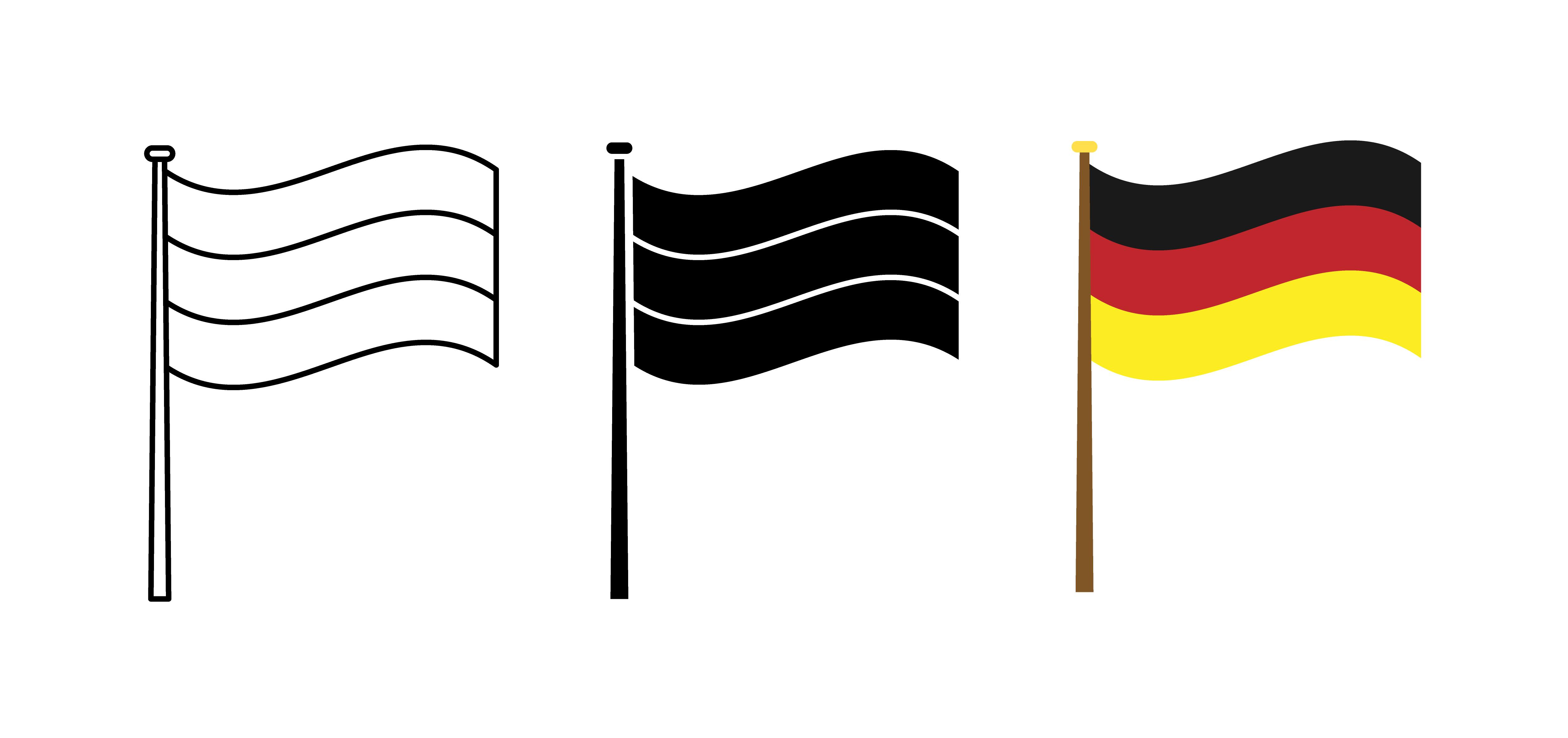 Germany Flag Free Vector Art