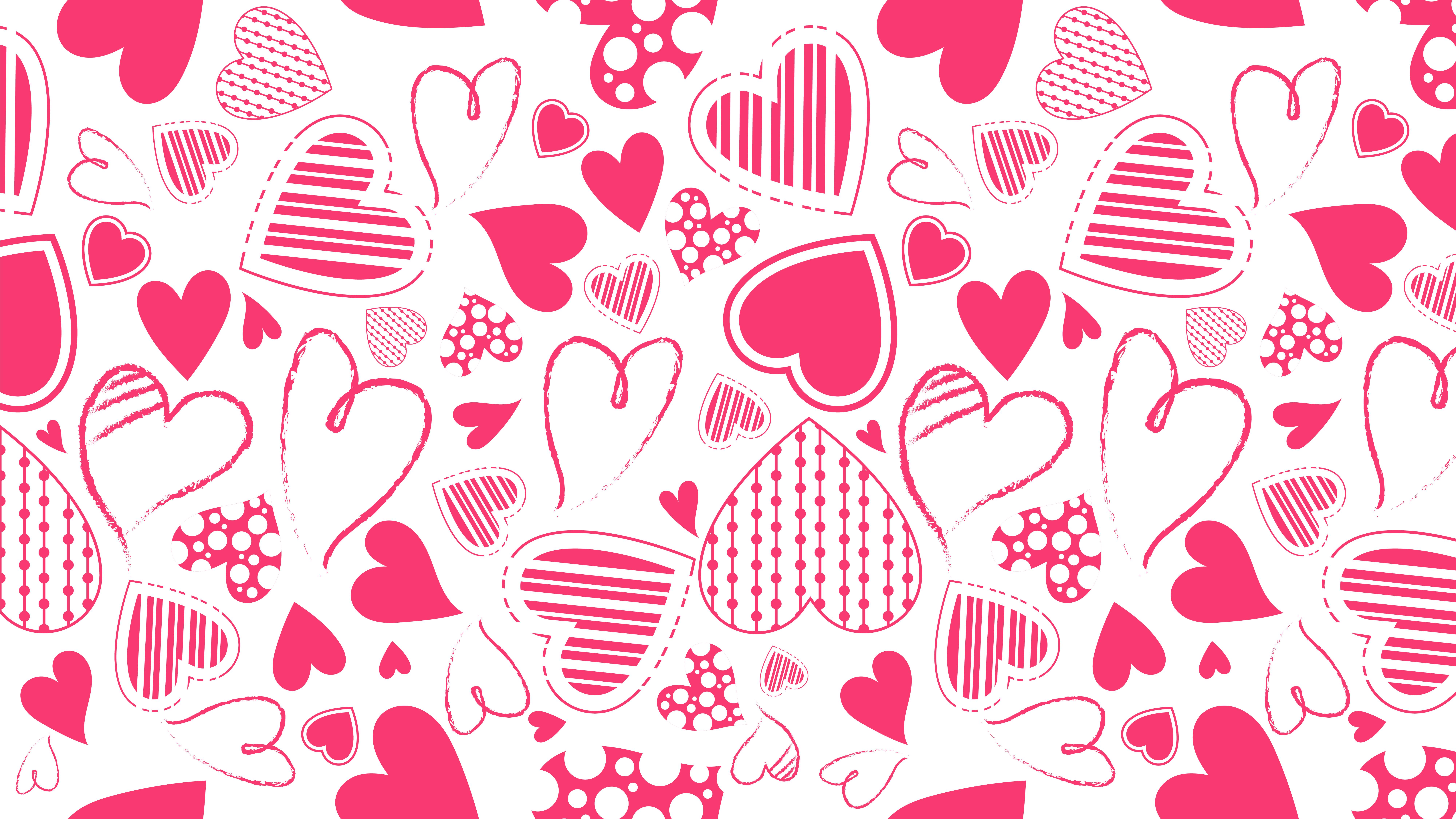 Heart Background Vector Free Vector Download