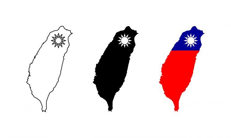 Taiwan Map Free Vector Art
