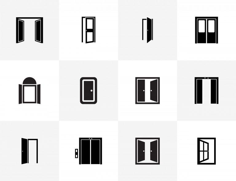 Door Glyph Icons