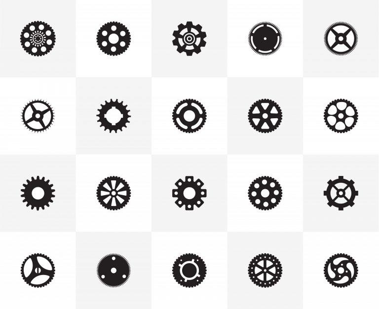 Mechanical Gear Vectors Download