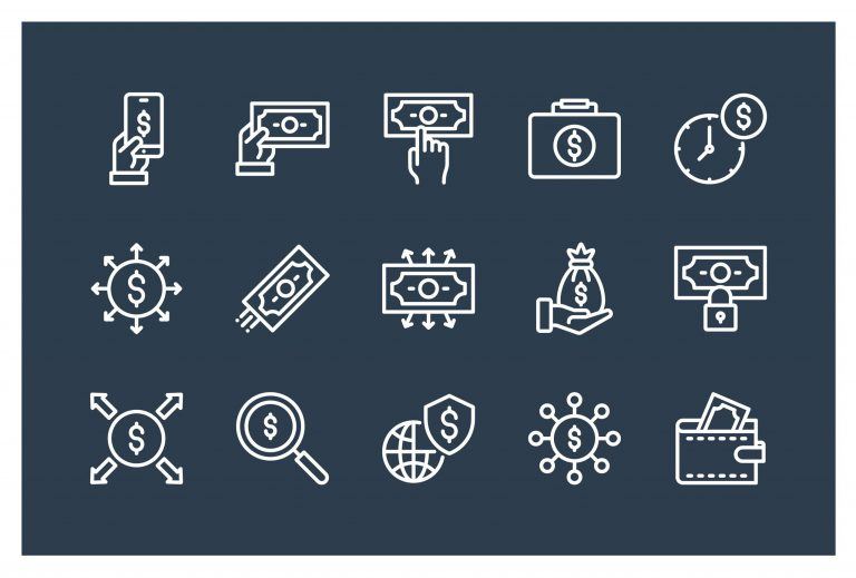 Finance Icons Vector Download