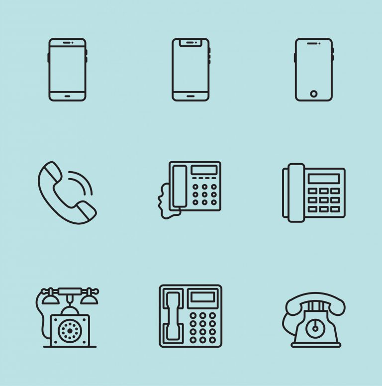 Phone Icons Free Download