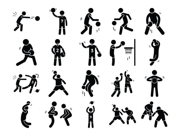 Basketball Icon Set Download