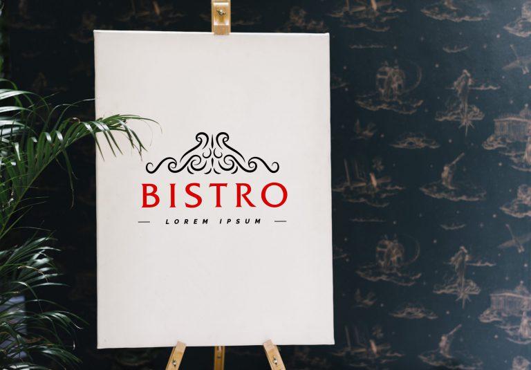 Bistro Logo Vector Free Download
