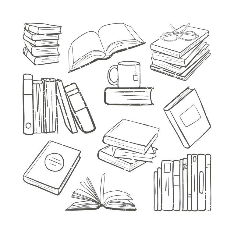 Free Download Best Book Doodles Vectors