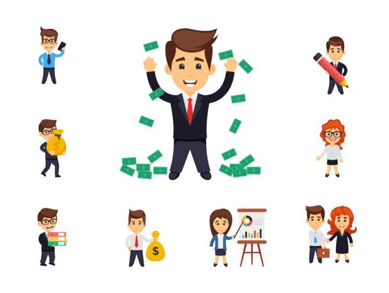 Free Business Characters