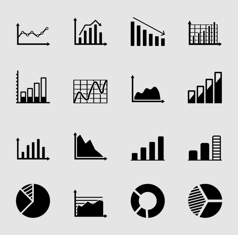 Business Charts Icons Download