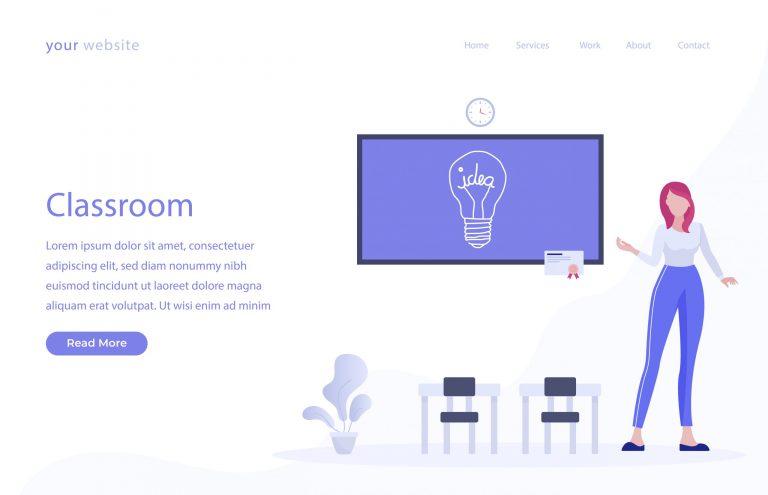 Free Classroom Vector