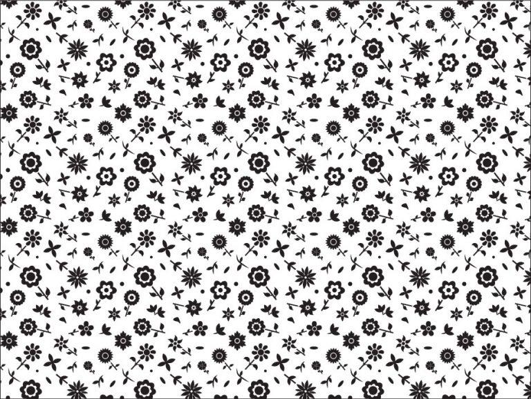 Confetti Flower Pattern