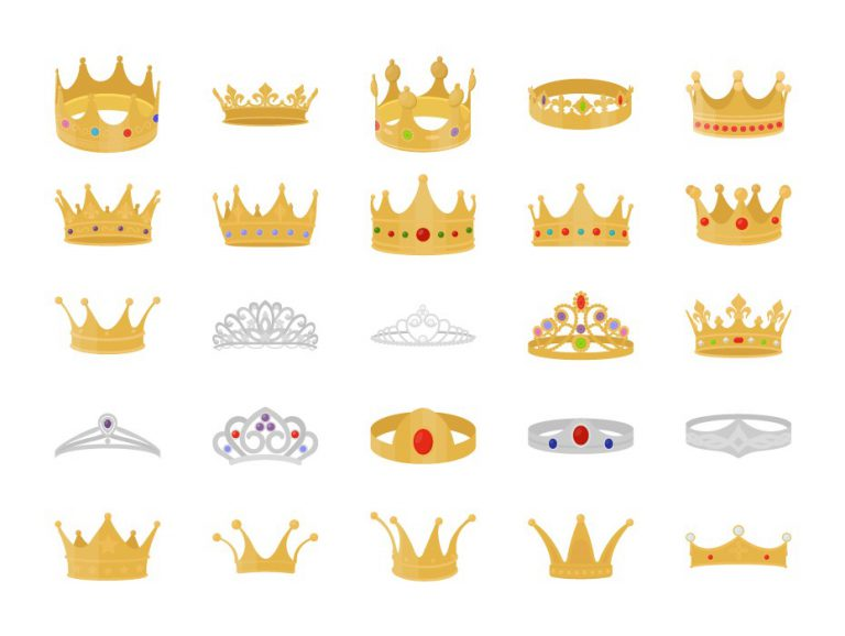 Crown Vector Icons