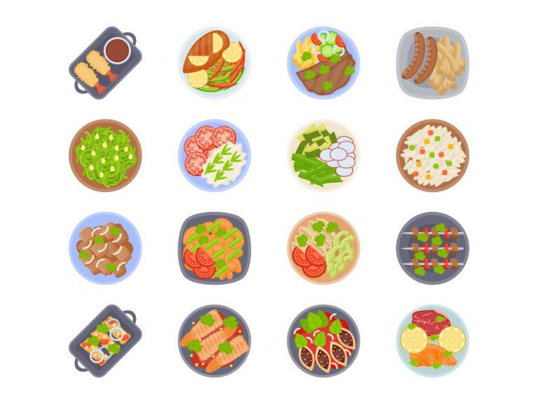 Cuisine Flat Icons