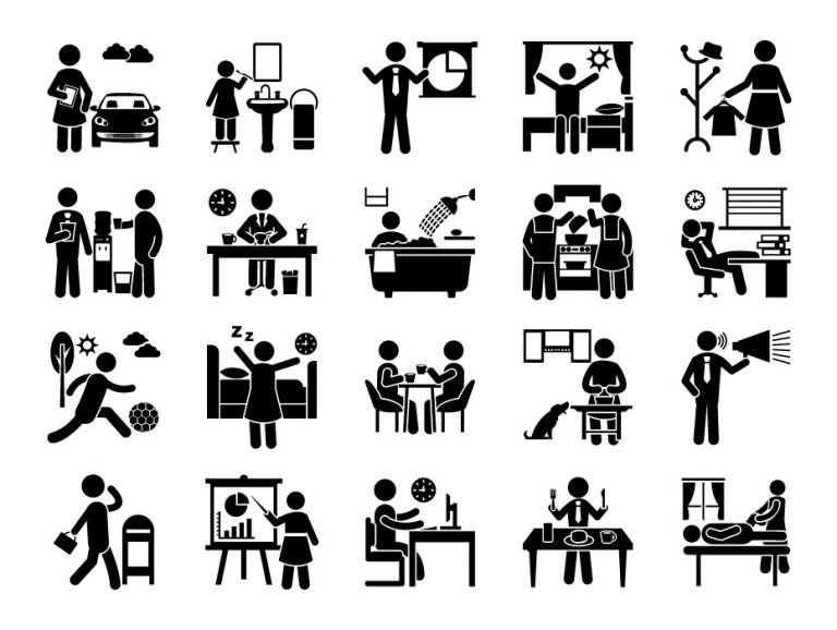 Daily Routine Pictograms
