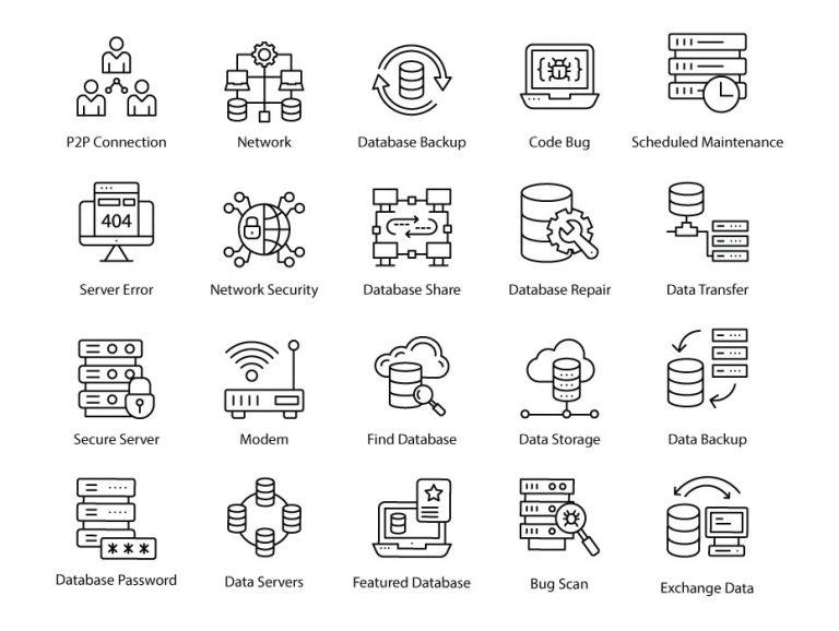 Database Icons Free