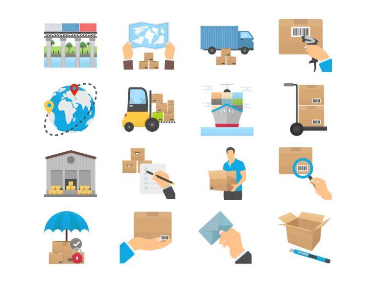 Delivery Logistics Set