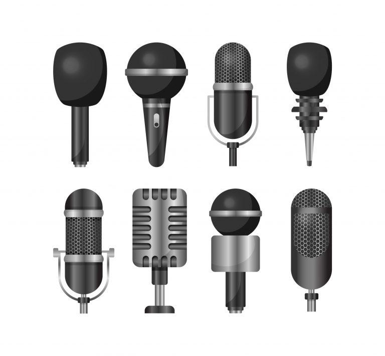 Types of Microphones Download