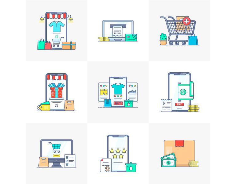 E-Commerce-Free-Vector-Art