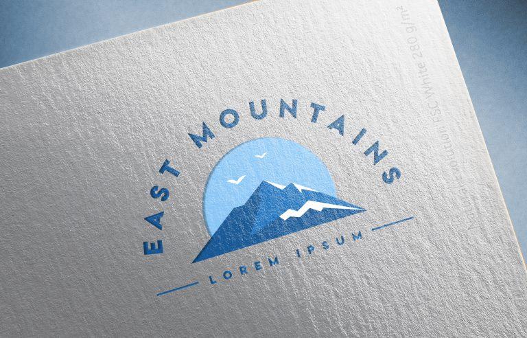 Mountain Logo Free Vector Art
