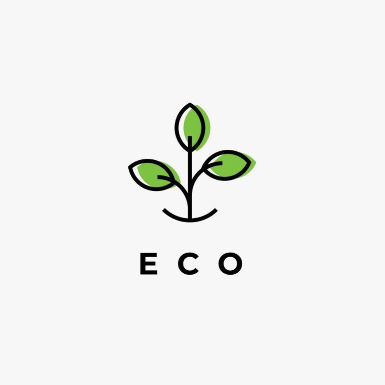 Eco Logo Vector Free Download
