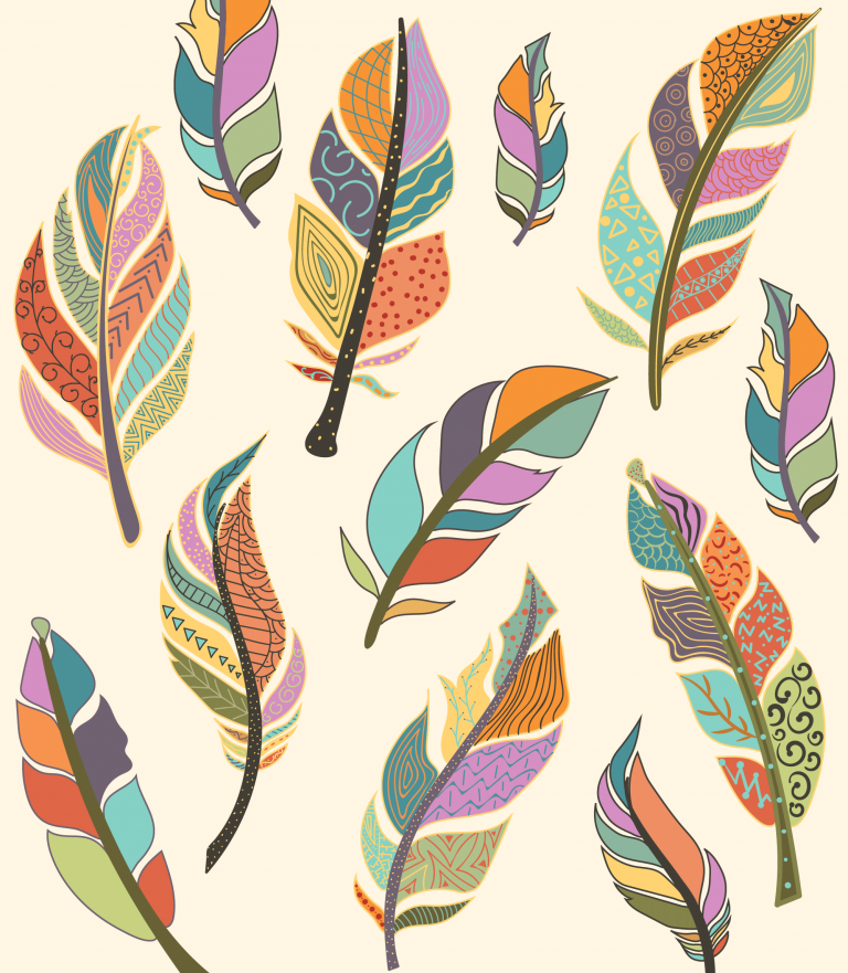 Feather Vectors Free Download
