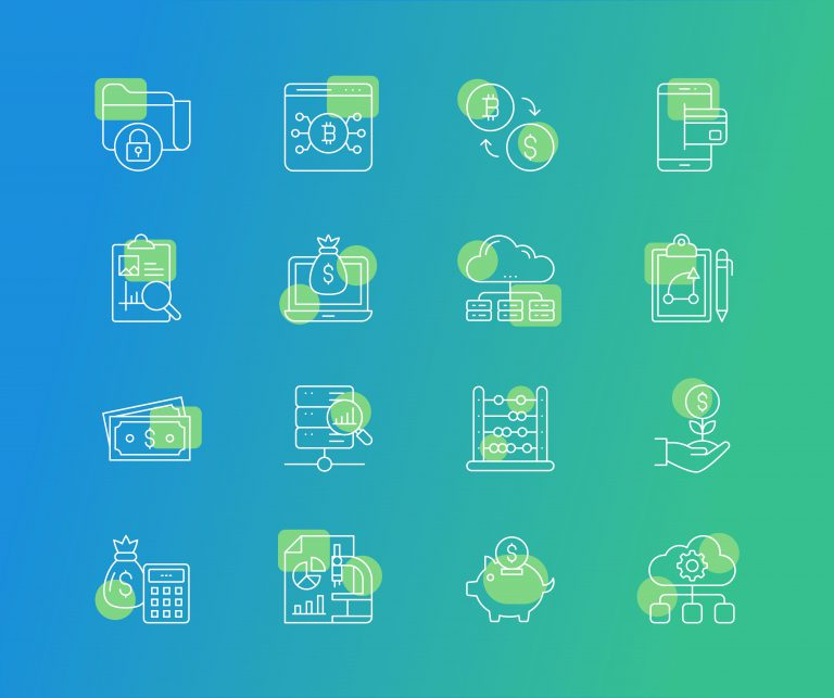Fintech Icons Pack