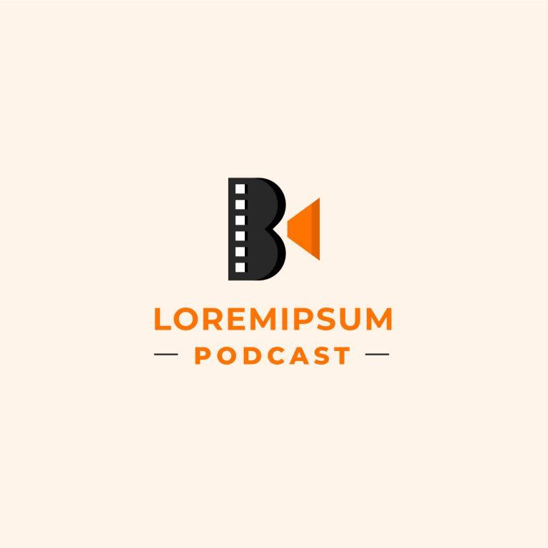 Free Podcast Logo Design