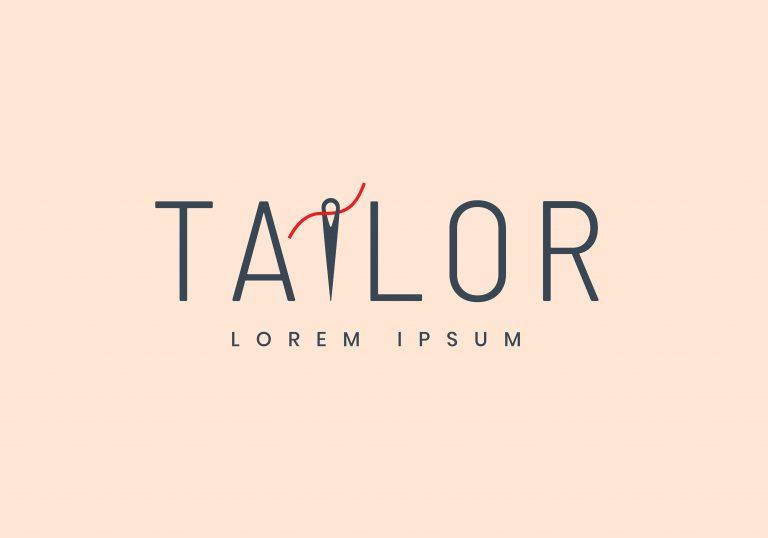 Free Tailor Logo Vector