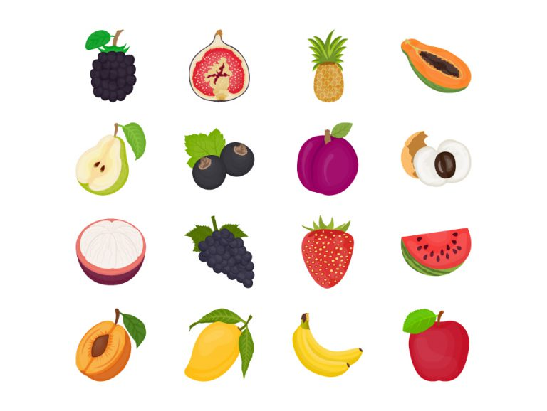 Fruits Flat Icon