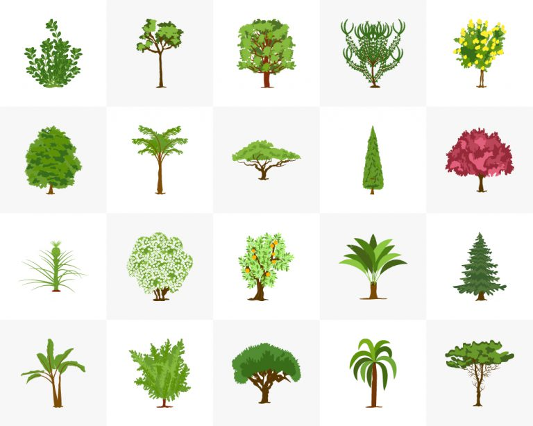 Trees Free Vector Download