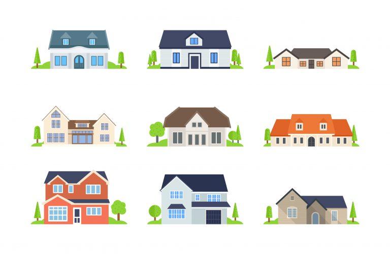 House Real Estate Vectors