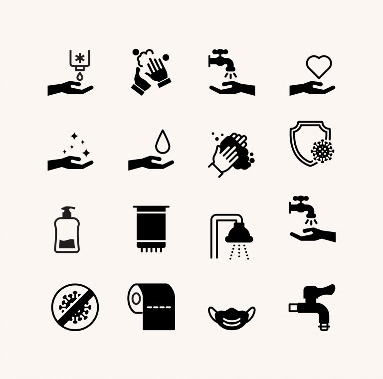 Hygiene Icons Free Vectors Download