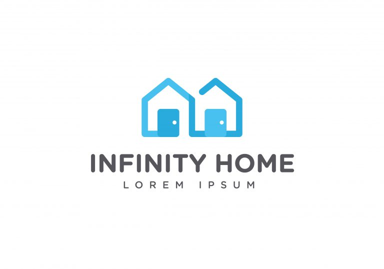 Infinity Home Vector
