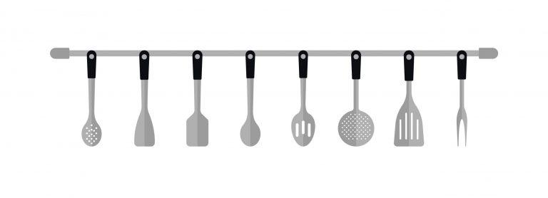 Kitchen Utensils Vector Set