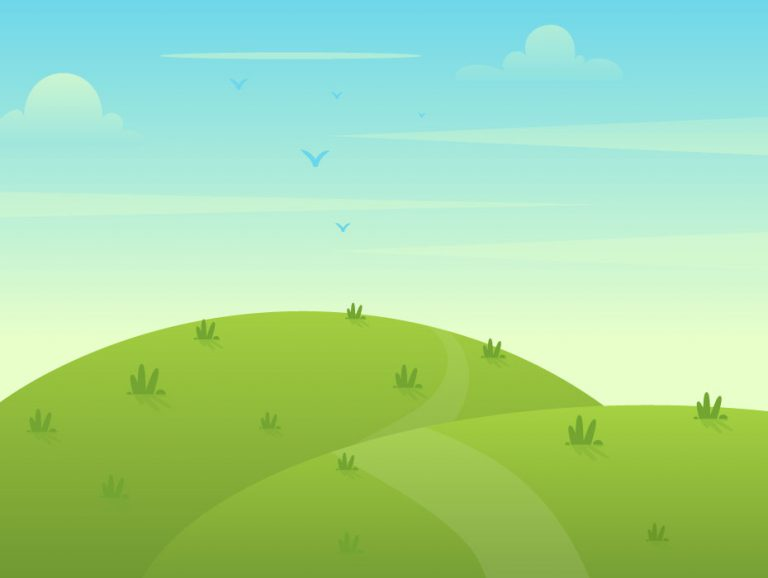 Free Landscape Design Illustration